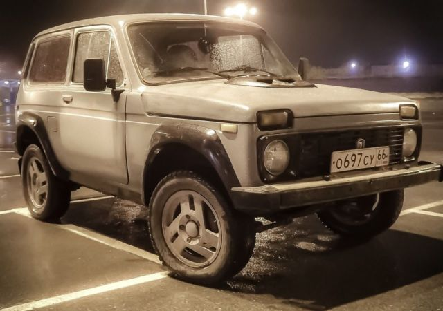 Lada Niva X Great Russian Car on Zil Russian Car 1980