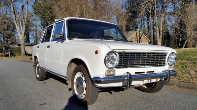1983 Other Makes LADA VAZ 2101 KOPEYKA fiat 124 RUSSIAN CAR