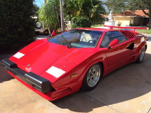 1989 Lamborghini Countach Loaded