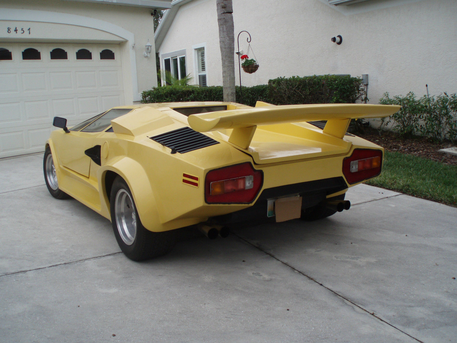 Lamborghini Countach Replica For Sale Photos Technical