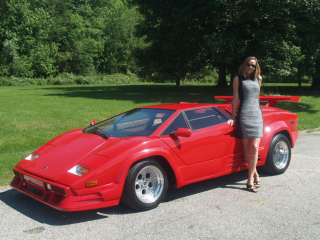 Lamborghini Countach V 8 Replica Stunning With Free