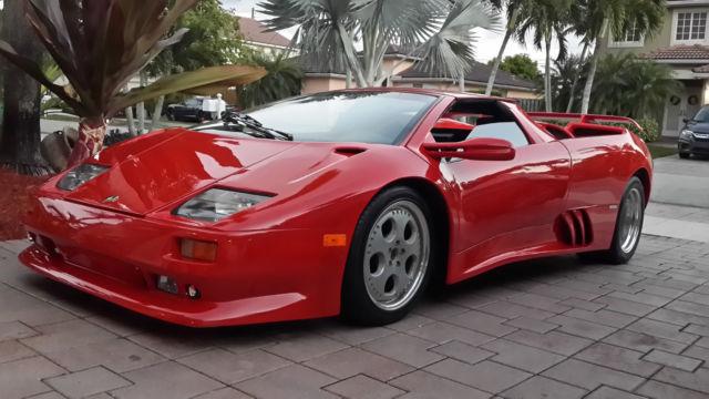 Lamborghini Diablo Roadster Custom Round Tube Chassis Longitudinal