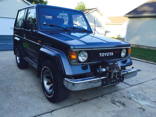 1985 Toyota Land Cruiser LX Turbo Diesel.  Mercedes W463 G300 D Competitor