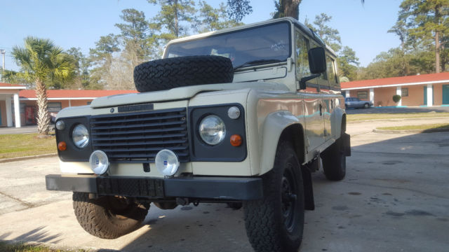 1984 Land Rover Defender 110 4 C SW P