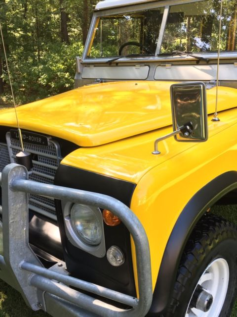 Land Rover 88 Quot Series 3 Game Edition Unbelievably Rare Australian Numbered Truck For Sale