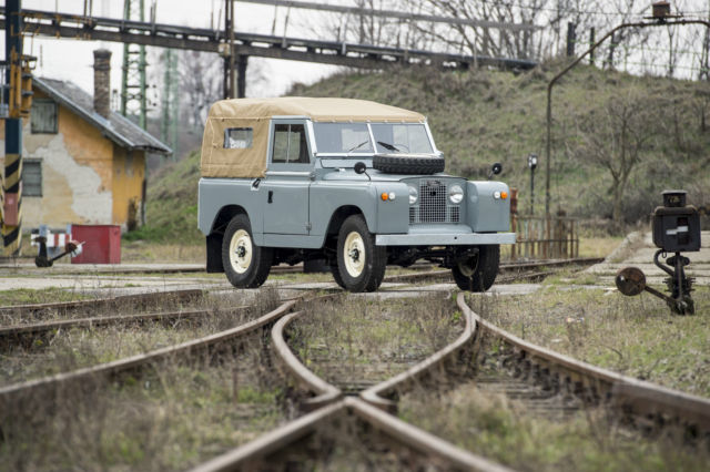 1963 Land Rover 88 Series II/A