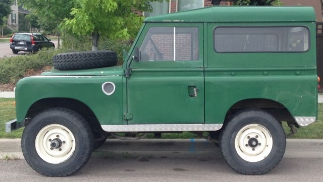1973 Land Rover Defender Series III