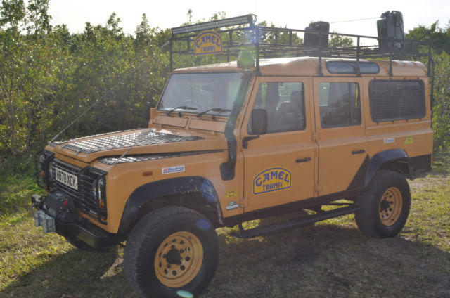 Land Rover Defender 110 1990 200tdi Camel Trophy For