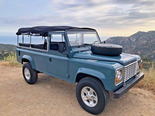 Land Rover Marin >> Land Rover Defender 110 Beach Runner Marine Blue
