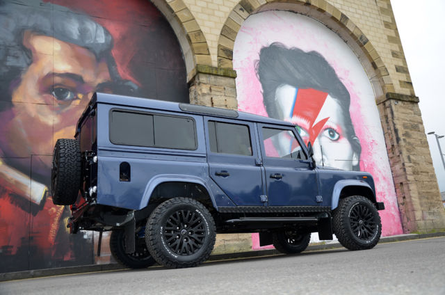 1980 Client Colour Choice Land Rover Defender Off Chassis Restoration Station Wagon 5 Door 110 Model with Client Choice of Leather Colour and Design interior
