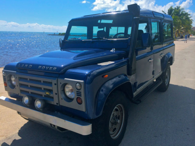 1987 Land Rover Defender 110 - LEFT HAND DRIVE . Florida Title