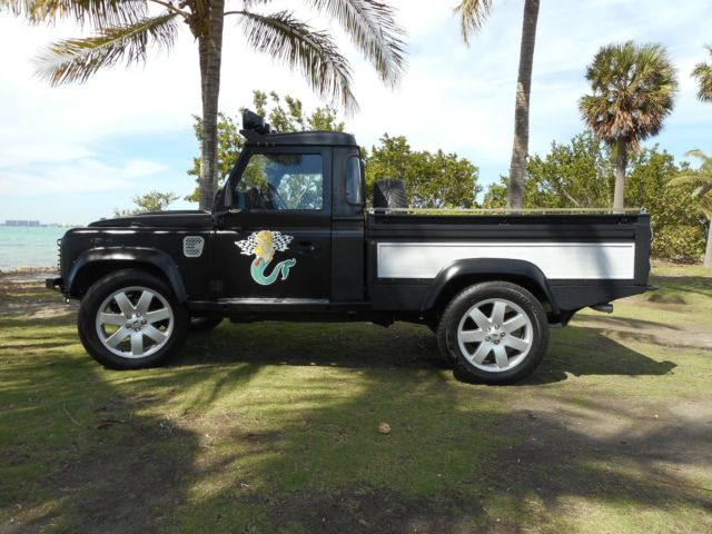 land rover defender 110 pick up for sale photos technical specifications description. Black Bedroom Furniture Sets. Home Design Ideas