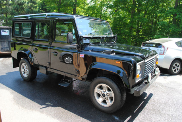 land rover defender 110 right hand drive restored for sale photos technical specifications. Black Bedroom Furniture Sets. Home Design Ideas