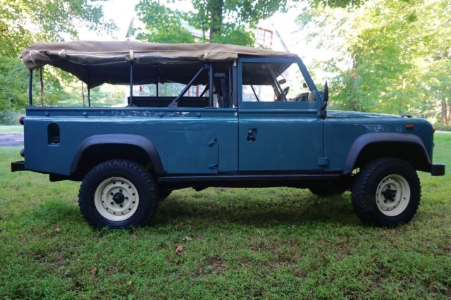 Land Rover Defender 110 Soft Top Beach 4x4 For Sale