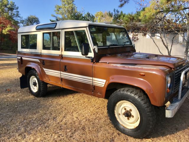 Land Rover Defender 110 V8 County In Usa For Sale Photos