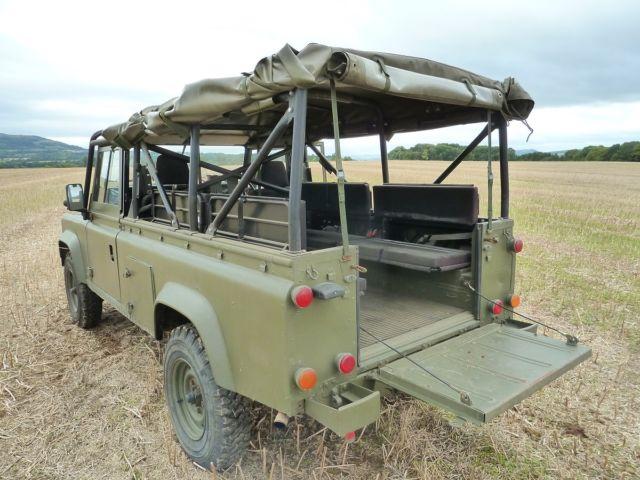Land Rover Defender 110 Soft Top Tithonus For Sale