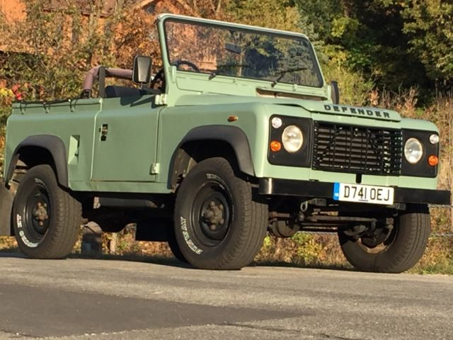 Land Rover Defender 90 Soft Top For Sale Photos