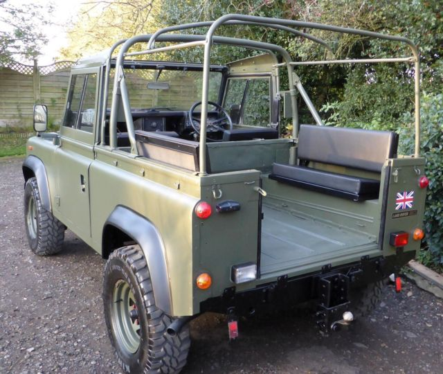 Land Rovers For Sale: Land Rover Defender 90 Soft Top 1991 Ex Mod Military For