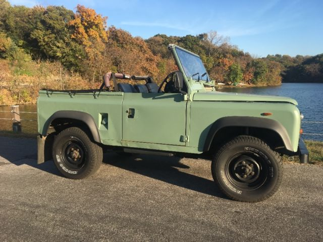 Land Rover Defender 90 Soft Top For Sale: Photos