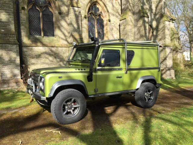 land rover defender custom 100 from 90, 110 & discovery for sale