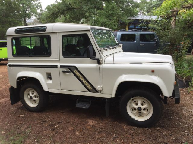 1988 Land Rover Defender D90 County Station Wagon