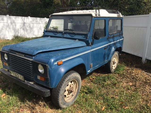 LAND ROVER DEFENDER / SANTANA 90 110 DIESEL 4X4 PROJECT for