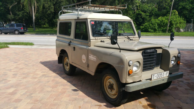land rover defender series iii santana 88 diesel for sale photos technical specifications. Black Bedroom Furniture Sets. Home Design Ideas