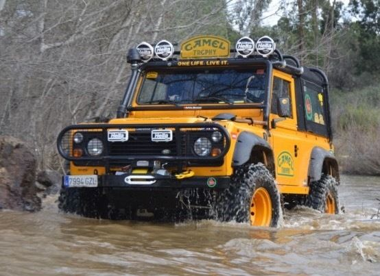 1986 Land Rover Defender CAMEL TROPHY Lhd Land Rover 90