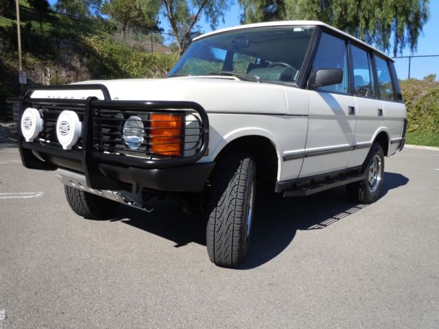 1989 Land Rover Range Rover County SWB