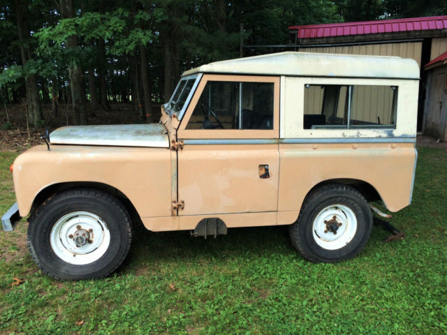 1967 Land Rover Series 2A 88