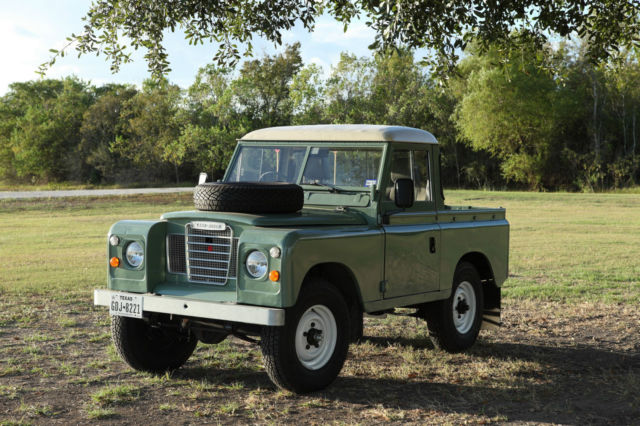 1984 Land Rover Series 3 SWB truck cab