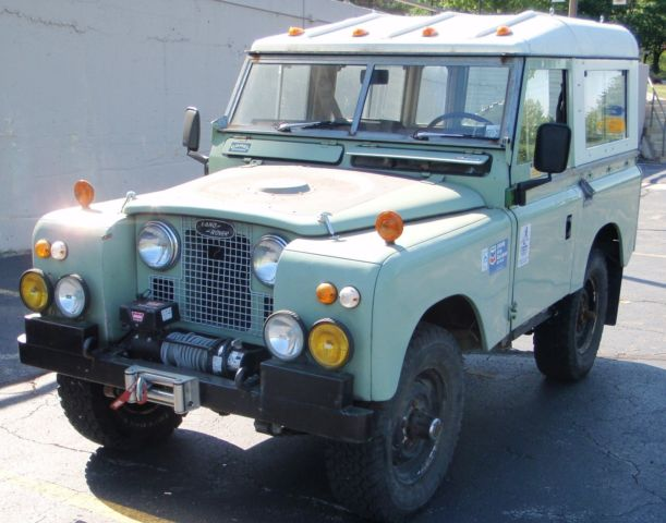 land rover series ii 1967 series ii gas conversion for. Black Bedroom Furniture Sets. Home Design Ideas