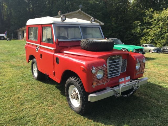 1973 Land Rover Defender Series 3