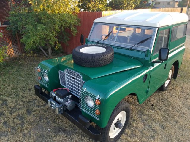 1974 Land Rover Series III Solid Frame and Body