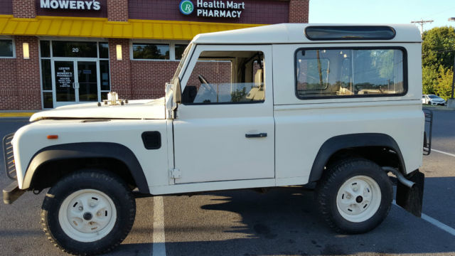landrover defender 90 200 tdi lhd for sale: photos, technical