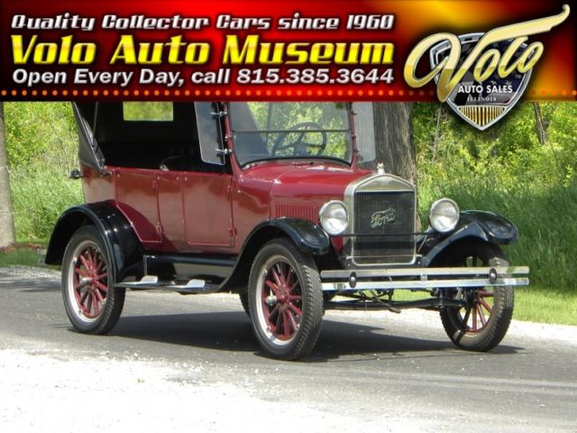 1927 Ford Model T Touring Convertible