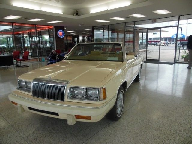 1986 Chrysler LeBaron Mark Cross