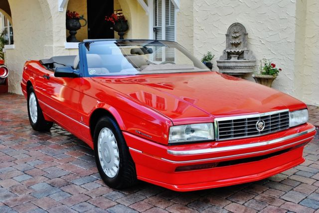 1993 Cadillac Allante Convertible 69k Miles Absolutely Gorgeous