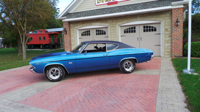 Lemans Blue One Of A Kind 1969 Chevelle Ss Trim For