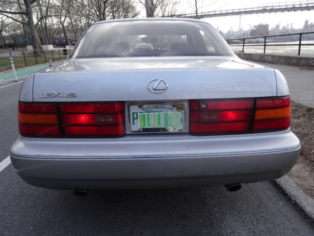 1994 Silver Lexus LS LS400 Sedan with Black interior