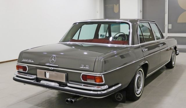 Lhd mercedes benz w109 300sel 3 5 original kms for Mercedes benz 1900 model