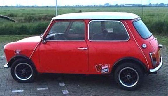 1988 Mini Classic Mini AUSTIN MINI RED HOT