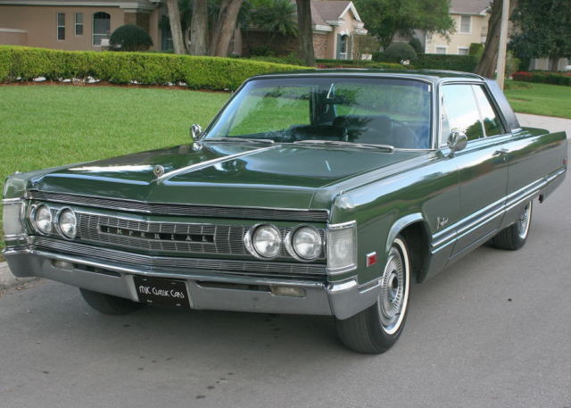 1967 Chrysler Imperial CROWN COUPE - CALIFORNIA - 56K MI