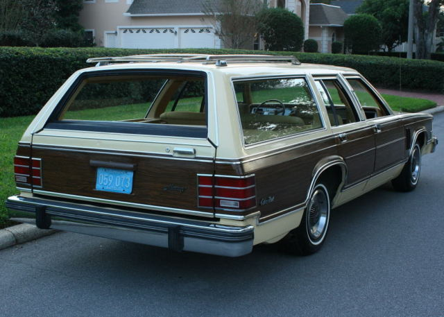 1979 Mercury Grand Marquis COLONY PARK - CALIF CAR - 69K MI