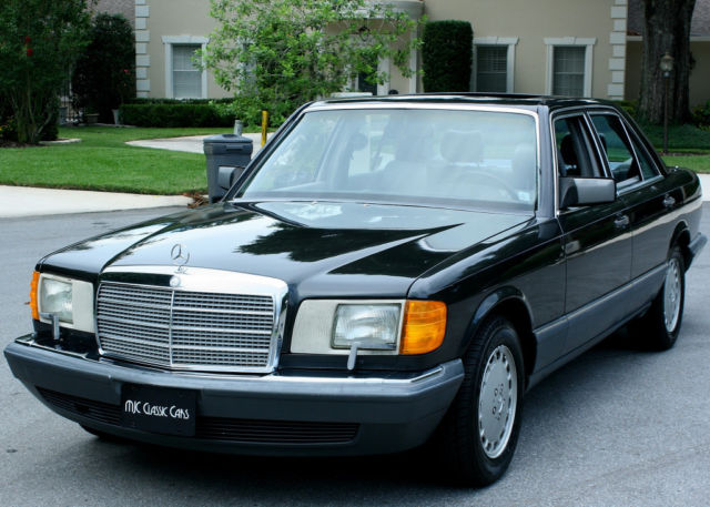 1991 Mercedes-Benz S-Class 300 SE SEDAN - MOONROOF - 77K MI
