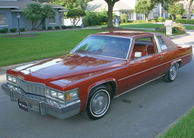 1977 Cadillac DeVille COUPE  -SOUTHERN CAR - 45K MILES