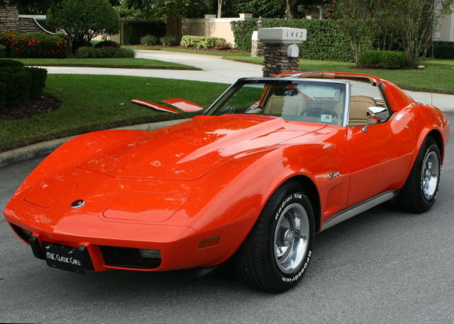 1976 Chevrolet Corvette TTOP - TWO OWNER - 54K MI