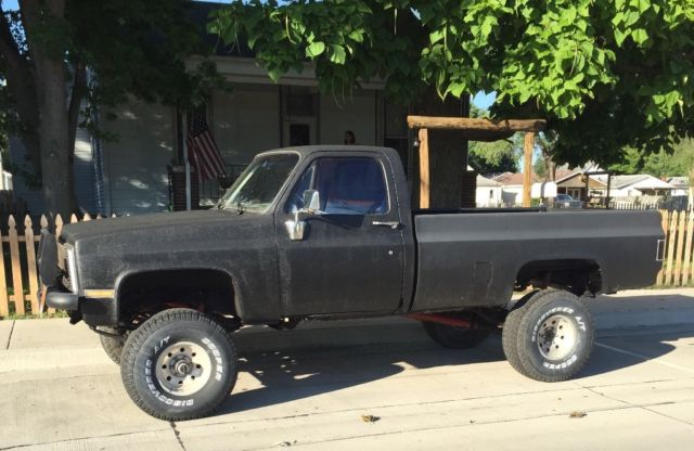 lifted chevy truck 86 k10 silverado for sale photos technical specifications description. Black Bedroom Furniture Sets. Home Design Ideas