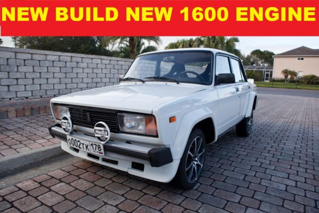 1984 Other Makes LADA 2105 VFTS/ NEW BUILD/BRAND NEW 1600 ENGINE NO RUST