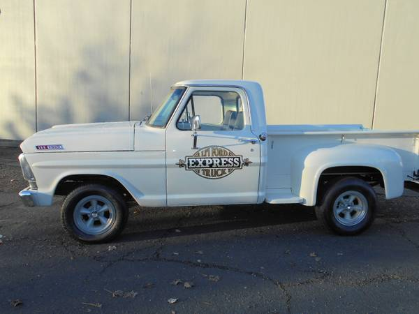 39 lil ford express truck customized f100 ranger short bed flair side pickup for sale photos. Black Bedroom Furniture Sets. Home Design Ideas